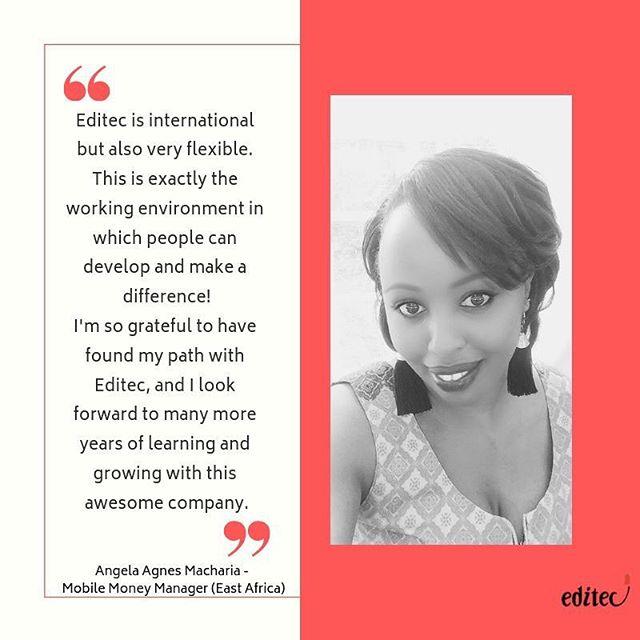 Meet Angela Macharia, our new Mobile Money Manager (East Africa)! #Newjoiner #EastAfrica #Mobilemoney #Editecteam #moneymanagement #bet #betting #gaming #gamingindustry #followus #followforfollow #thu